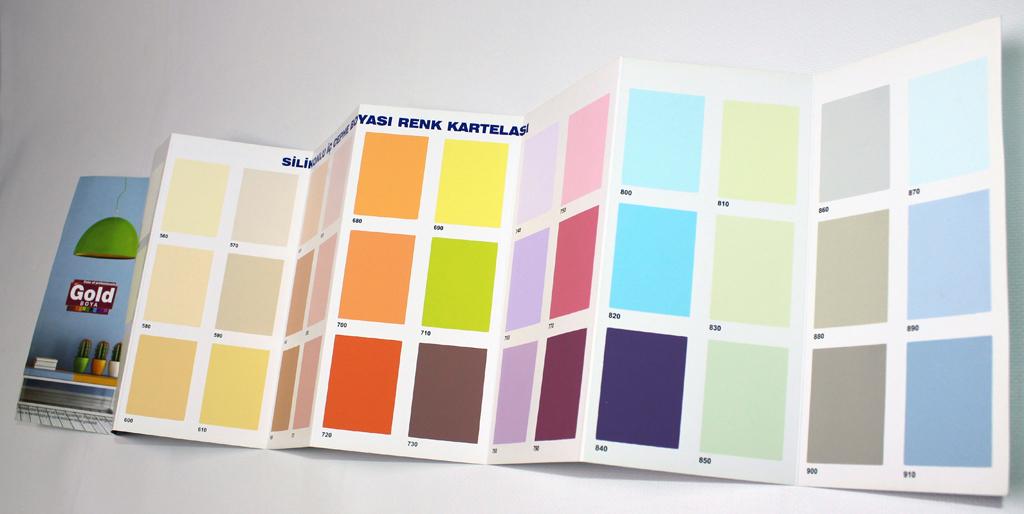 renk kartela imalatı