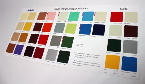 rapid boya renk kartelası