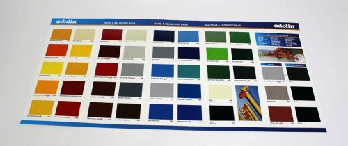 rapid selülozik boya renk kartelası